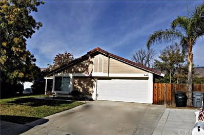 949 Clover Street, San Jacinto, CA 92582 - MLS#: EV17261927
