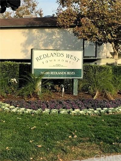 26200 Redlands Boulevard UNIT 9, Redlands, CA 92354 - MLS#: EV17272841