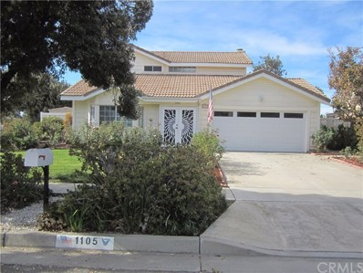 1105 Anthony Street, Redlands, CA 92374 - MLS#: EV17279562