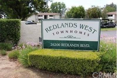26200 Redlands Boulevard UNIT 176, Redlands, CA 92373 - MLS#: EV18011105