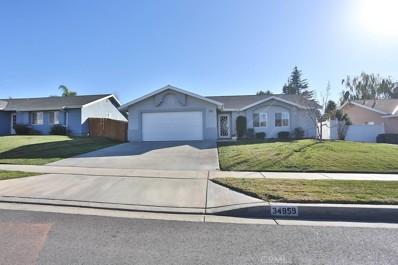 34959 San Carlos Street, Yucaipa, CA 92399 - MLS#: EV18017897