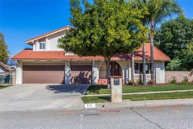 513 Clover Street, Redlands, CA 92373 - MLS#: EV18045196