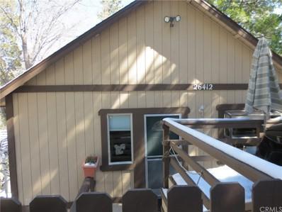 26412 Lake Forest Drive, Twin Peaks, CA 92391 - MLS#: EV18063646