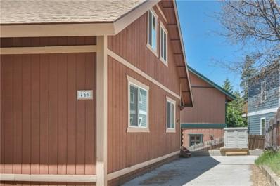 759 Ivy Lane, Lake Arrowhead, CA 92352 - MLS#: EV18098065