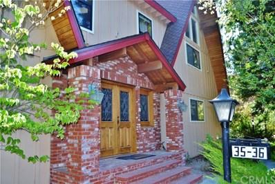 180 S Grass Valley Road S UNIT 36, Lake Arrowhead, CA 92352 - MLS#: EV18104047