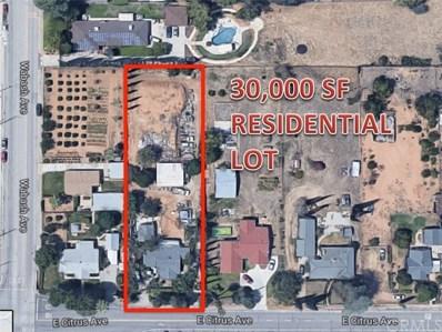 1805 E Citrus Avenue, Redlands, CA 92374 - MLS#: EV18182530