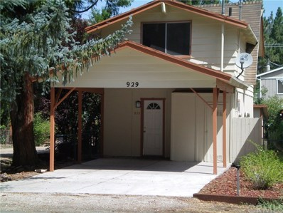 929 W Aeroplane Boulevard, Big Bear, CA 92314 - MLS#: EV18212937