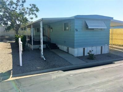 12680 4th Street UNIT 59, Yucaipa, CA 92399 - MLS#: EV18232152