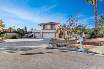 116 Cascade Court, Redlands, CA 92373 - MLS#: EV18232458