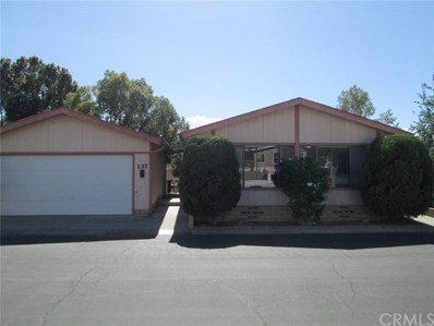 3800 W Wilson` Street UNIT 137, Banning, CA 92220 - MLS#: EV18248979