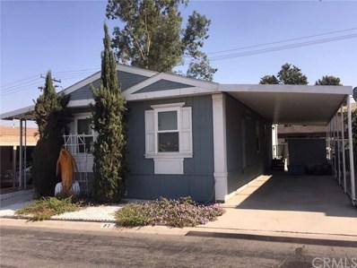 24414 University Avenue UNIT 57, Loma Linda, CA 92354 - MLS#: EV18268027