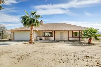 16185 Rancherias Road, Apple Valley, CA 92307 - MLS#: EV18276585