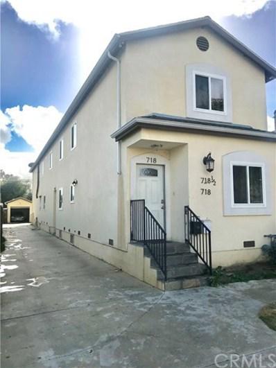 718 E 40th Place, Los Angeles, CA 90011 - MLS#: EV18282866