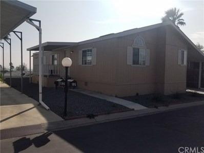 6130 Camino Real UNIT 195, Jurupa Valley, CA 92509 - MLS#: EV18289567