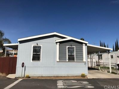 222 S Rancho UNIT 80, San Bernardino, CA 92410 - MLS#: EV19015090