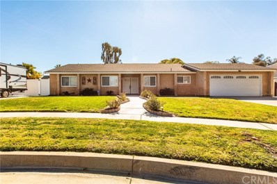 1344 Amherst Court, Redlands, CA 92374 - MLS#: EV19026583