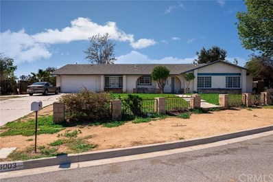 6003 Saturn Lane, Jurupa Valley, CA 91752 - MLS#: EV19060168