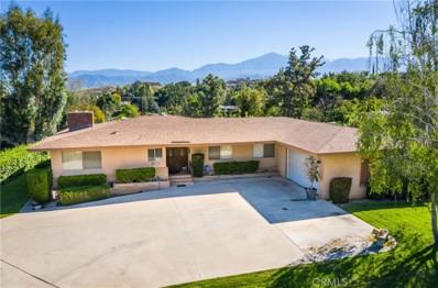 1817 Country Club Drive, Redlands, CA 92373 - MLS#: EV19081373