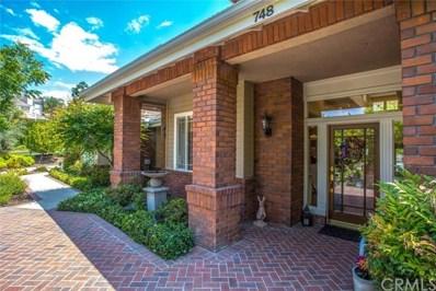 748 La Solana Drive, Redlands, CA 92373 - MLS#: EV19125785