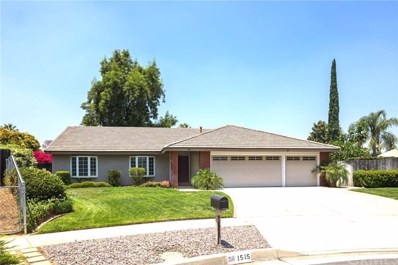 1515 Lori Court, Redlands, CA 92374 - MLS#: EV19163297