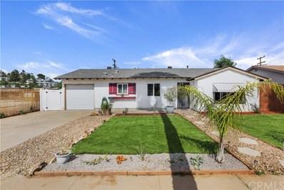 1716 Berrydale Street, El Cajon, CA 92021 - MLS#: EV19176649