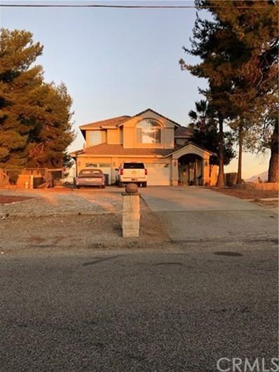 10820 Hannon Rd, Cherry Valley, CA 92223 - MLS#: EV19250032