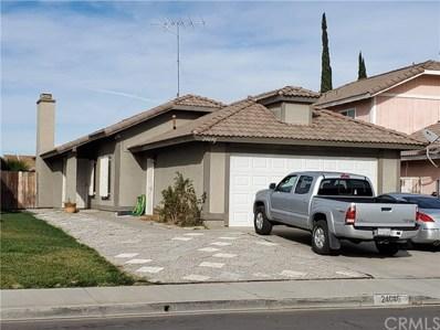 24046 Poppystone Drive, Moreno Valley, CA 92551 - MLS#: EV20005116