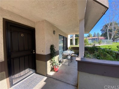 1259 Edwards Street UNIT 19, Redlands, CA 92374 - MLS#: EV20027569