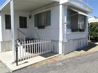 12656 2nd Street UNIT 63, Yucaipa, CA 92399 - MLS#: EV21002566