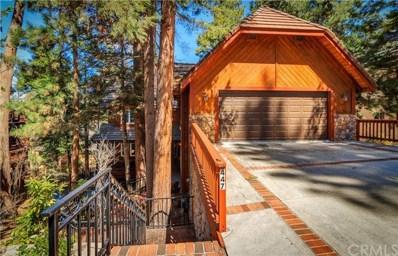 447 Bay View Drive, Lake Arrowhead, CA 92352 - MLS#: EV21139070