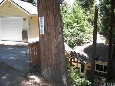 743 Woodland Road, Crestline, CA 92325 - MLS#: EV21143623