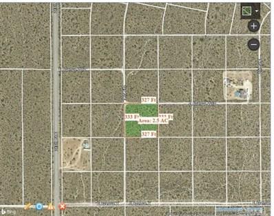 0 Vac\/Cor Avenue W13\/215 Ste, Llano, CA 93544 - MLS#: IG17190424