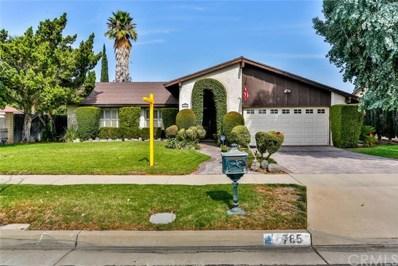 765 W Crestview Street, Corona, CA 92882 - MLS#: IG17236793