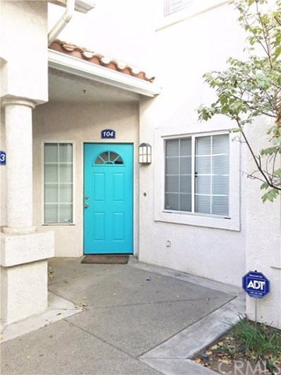2951 Via Milano, Unit #104, Corona, CA 92879 - MLS#: IG17268935