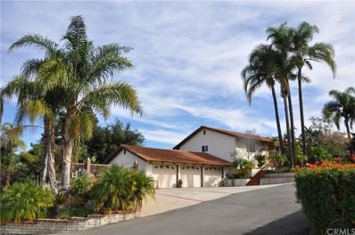 1391 Paseo Grande Avenue, Corona, CA 92882 - MLS#: IG18010728