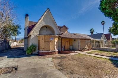 1171 Bobbett Drive, San Bernardino, CA 92410 - MLS#: IG18027657