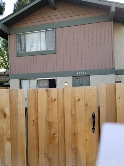 4823 Jackson Street UNIT D, Riverside, CA 92503 - MLS#: IG18064103