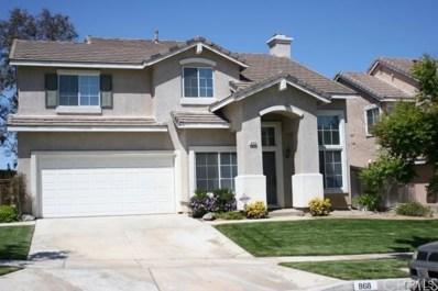 868 Montague Drive, Corona, CA 92879 - MLS#: IG18080348