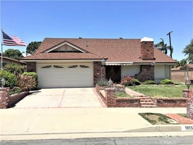 18153 Galatina Street, Rowland Heights, CA 91748 - MLS#: IG18139611