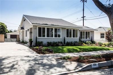 906 Raymond Avenue N, Fullerton, CA 92831 - MLS#: IG18242666