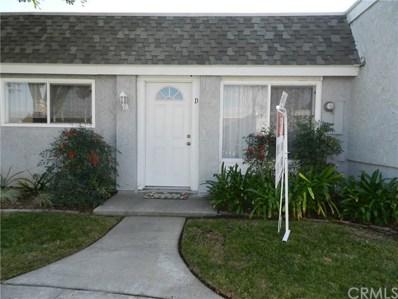 209 N Kodiak Street UNIT D, Anaheim, CA 92807 - MLS#: IG18295689