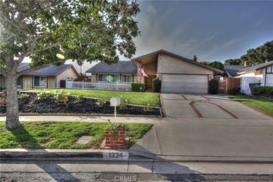 1324 Vallejo Drive, Corona, CA 92882 - MLS#: IG19068965