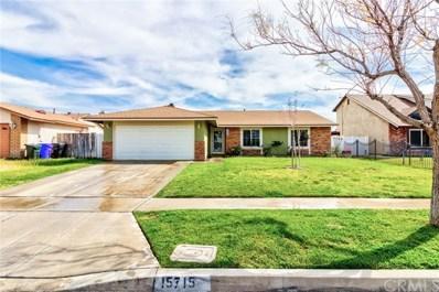 15715 Reed Drive, Fontana, CA 92336 - MLS#: IG19079714
