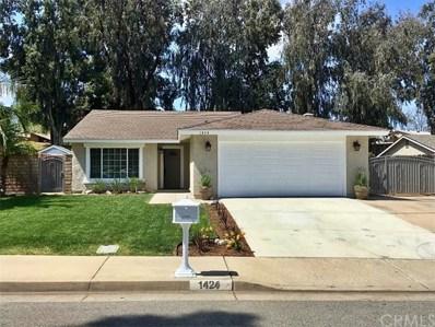 1424 Baird Street, Corona, CA 92882 - MLS#: IG19089122