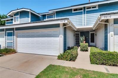 961 Inn Keeper Lane UNIT B, Corona, CA 92881 - MLS#: IG19215273