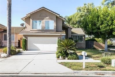 1852 Panoramic Drive, Corona, CA 92880 - MLS#: IG19223012