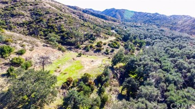 0 Situs Na Call Assessor At 71, Modjeska Canyon, CA 92676 - MLS#: IN17249219