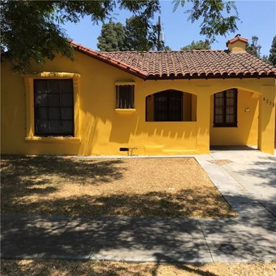 4218 S Norton Avenue, Leimert Park, CA 90008 - MLS#: IN18173770
