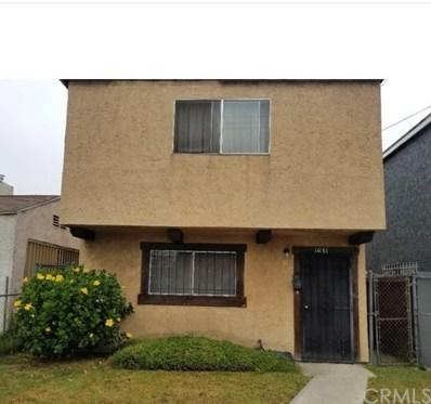 1631 E 114th, Los Angeles, CA 90059 - MLS#: IN19221301