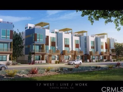 667 W 17th Street UNIT 16, Costa Mesa, CA 92627 - MLS#: IV17183643